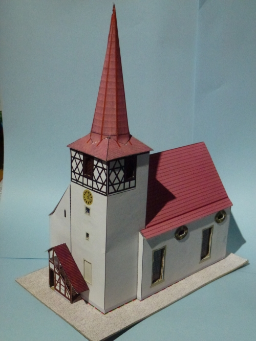 Kirche Basteln