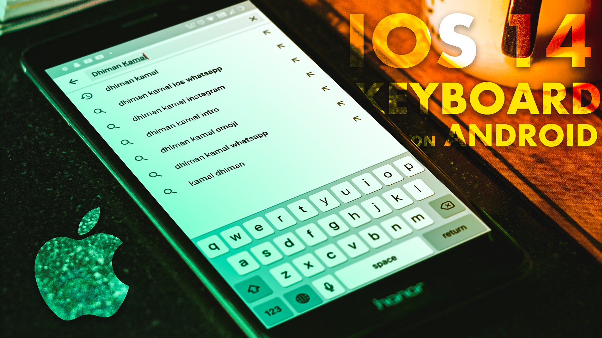 iPhone 12 Keyboard On Any Android // iOS 14 Keyboard For ...