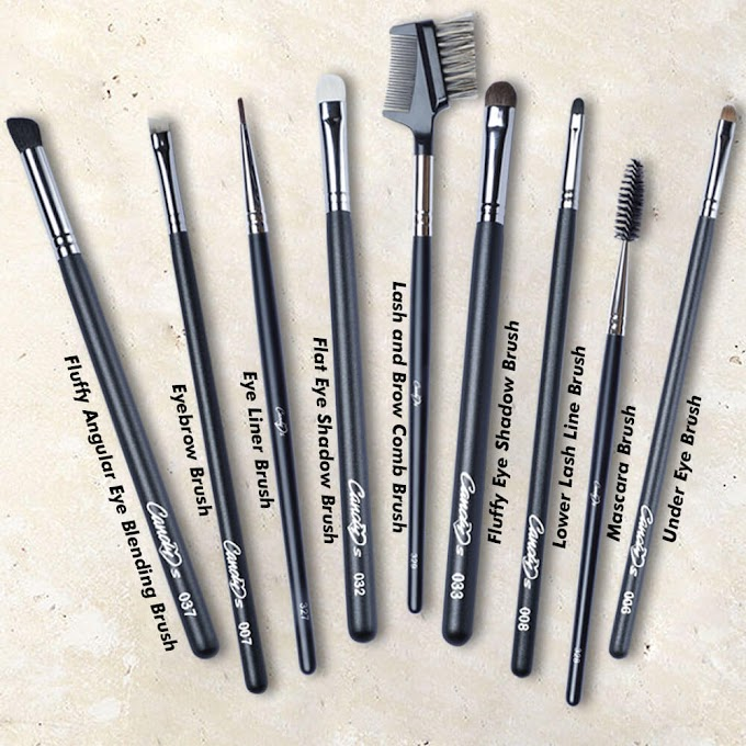 The Eye Makeup Brushes You Need for Professional Finishing