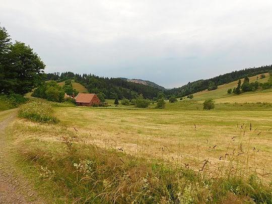 Przełęcz Trzech Dolin.