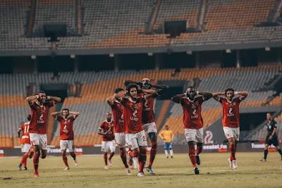 ملخص واهداف مباراة الاهلي والاسماعيلي (3-0) في الدوري المصري