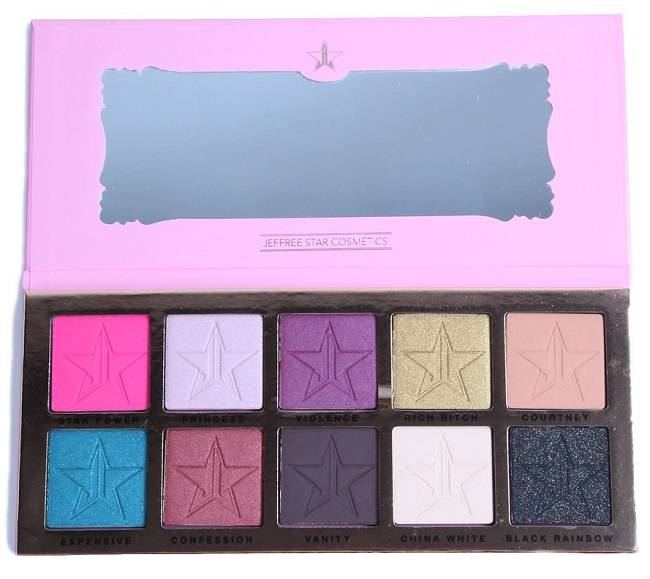 Paleta de sombras de ojos Beauty Killer de Jeffree Star