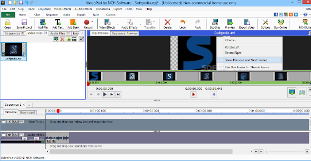 تحميل برنامج VideoPad Video Editor  لتحرير وتعديل الفيديوهات 2018 للكمبيوتر