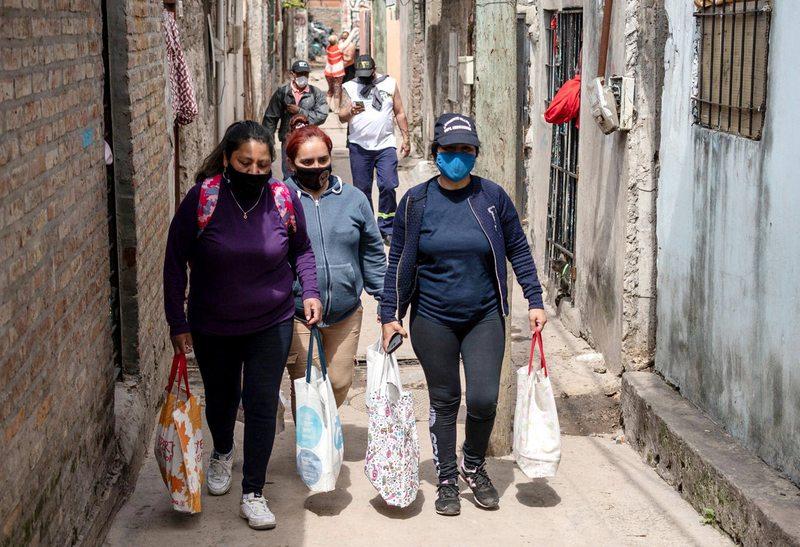 Argentina es el cuarto país con más contagios nuevos en 7 días