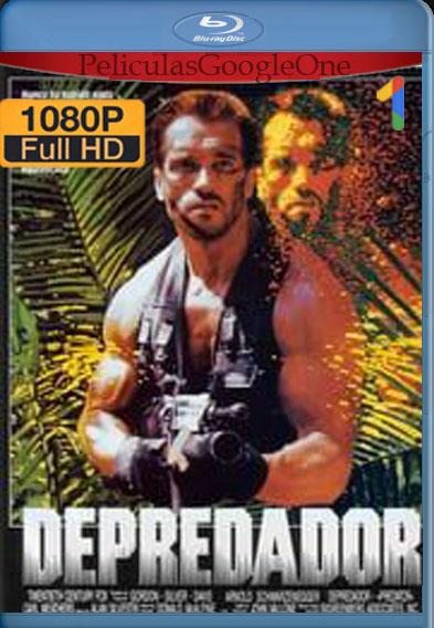 Depredador (1987) [1080p BRrip] [Latino-Inglés] [LaPipiotaHD]