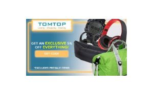 (Mega Loot) TomTop App – Free Gift Deals + Refer & Earn