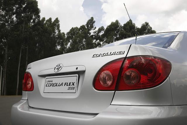 Toyota Corolla 2008 Flex XEi