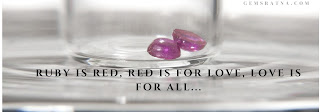 ruby gemstone of love