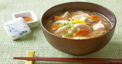 Nasi dan Sup Miso dari Jepang
