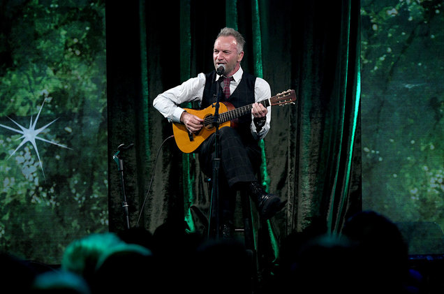 Sting Announces Sting & Friends 'WE'LL BE TOGETHER' Benefit Concert