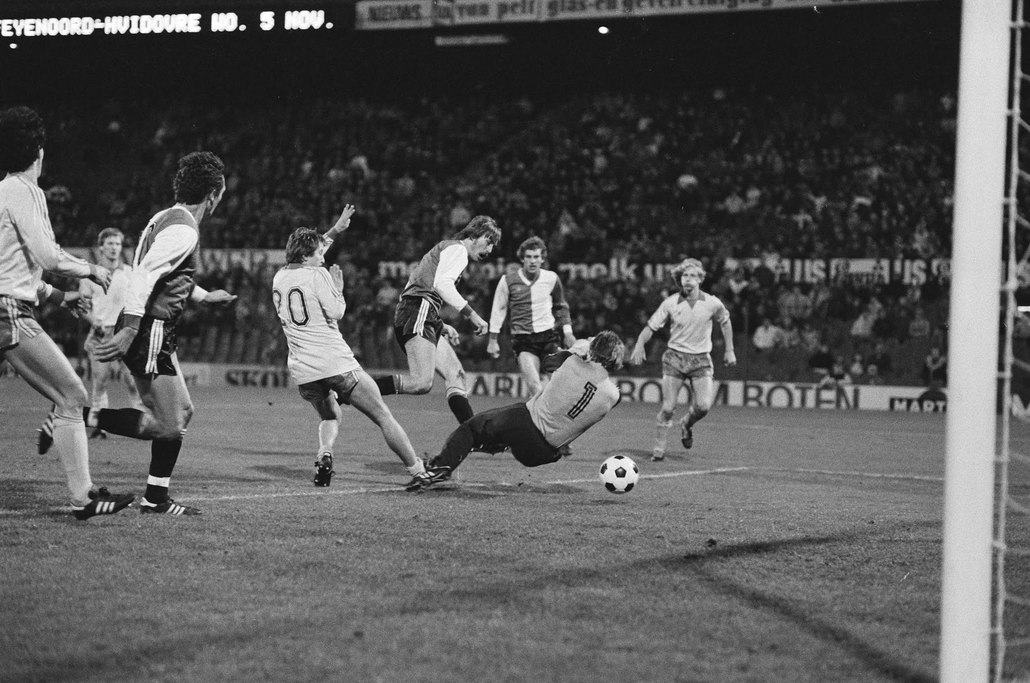 Ivan Nielsen zet Feyenoord op voorsprong
