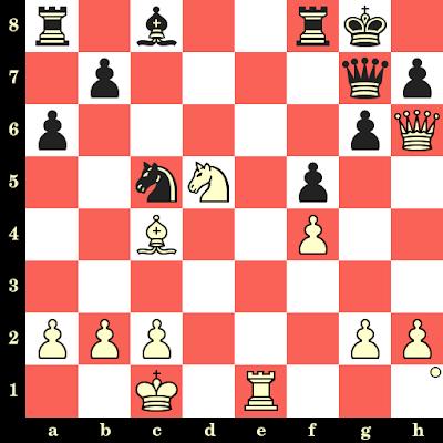 Les Blancs jouent et matent en 4 coups - Purev Tumurbator vs Emin Duraku, Varna, 1958