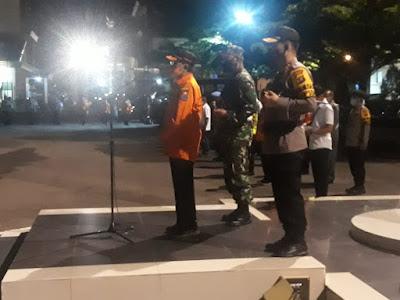 Tim Gugus Covid-19 Provinsi Jambi Gelar Apel Gabungan di Polda Jambi