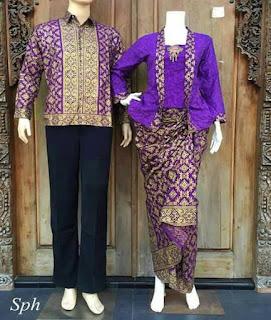 model baju batik atasan modern untuk pesta