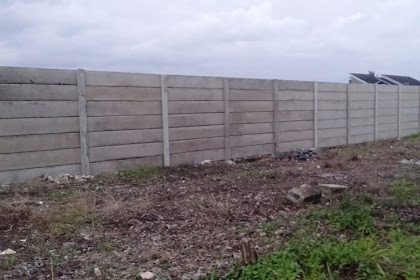 Harga pagar panel Beton Bekasi per Meter terpasang sesuai Tinggi