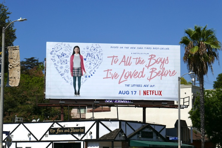 To All the Boys Ive Loved Before movie billboard