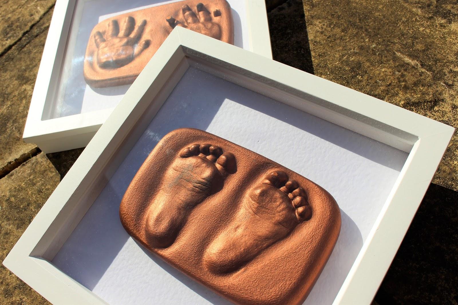 Diy i got phoebes feet hands cast itsjustmehayleyd baby foot and hand casting solutioingenieria Choice Image