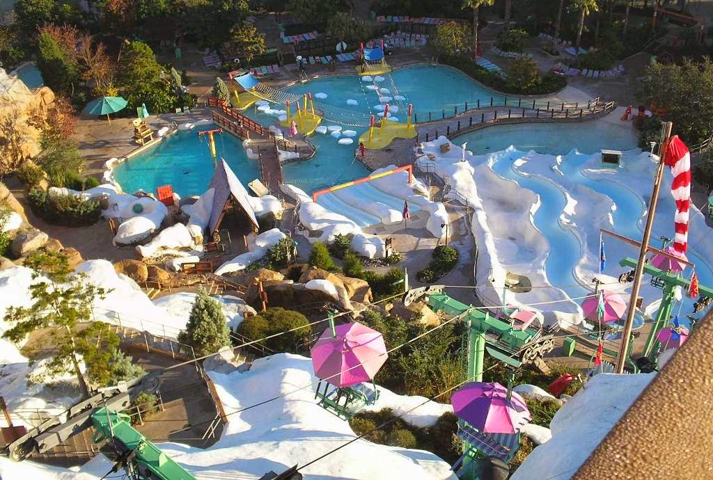 Parque Disney Blizzard Beach em Orlando