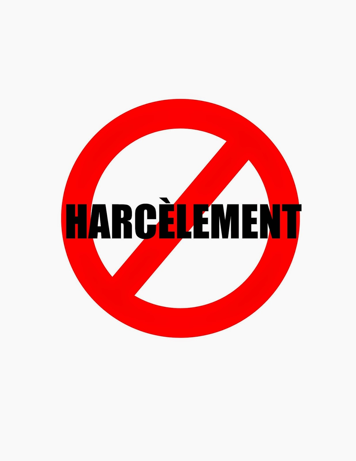 Image result for harcelement