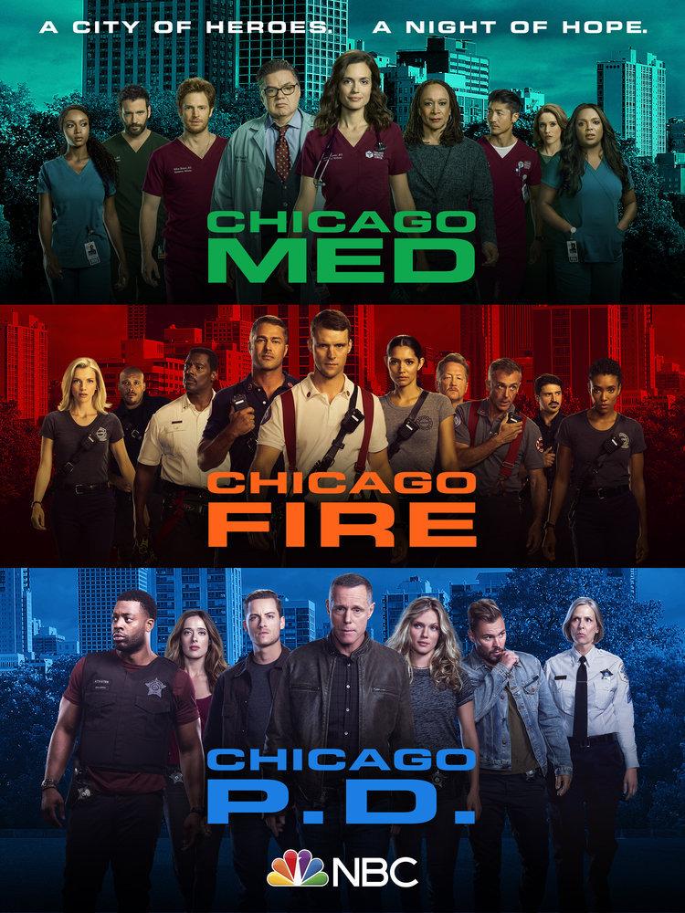 Chicago Med Temporada 6 / Chicago PD Temporada 8 / Chicago Fire Temporada 9