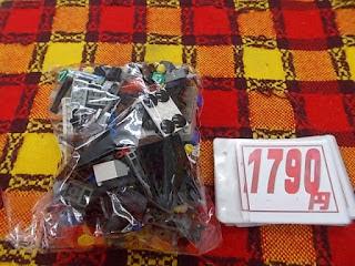 中古品のレゴセット500グラムタイヤ入り1590円