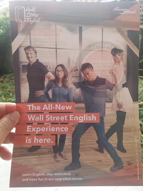 kursus bahasa Inggris Wall Street