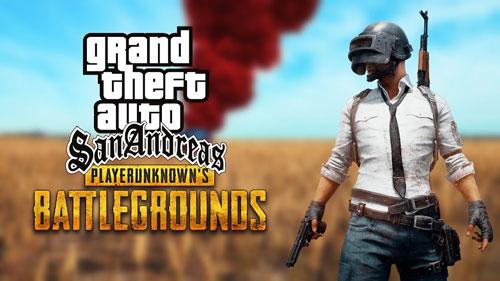 GTA SAN Andreas PUBG MOD Free Download