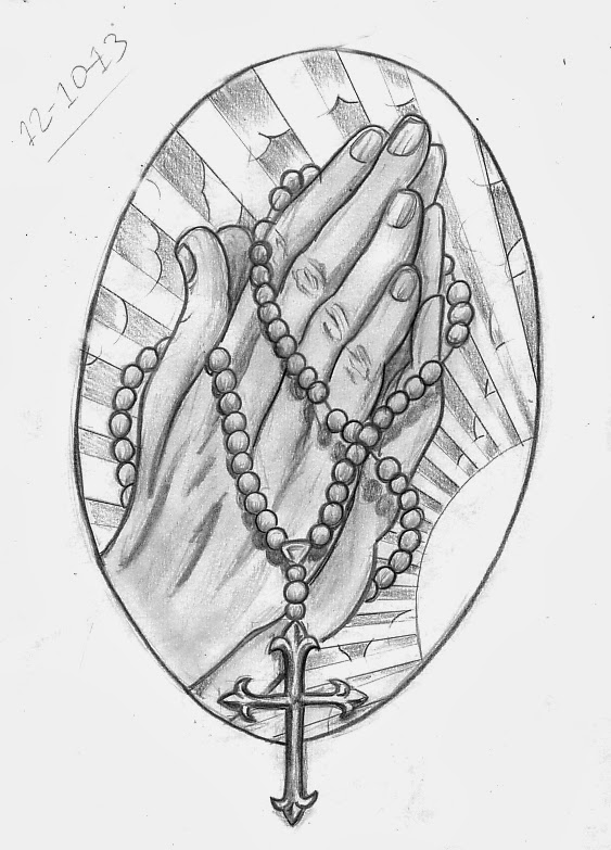Tattoo Sketch A Day Religious October 8th 14th