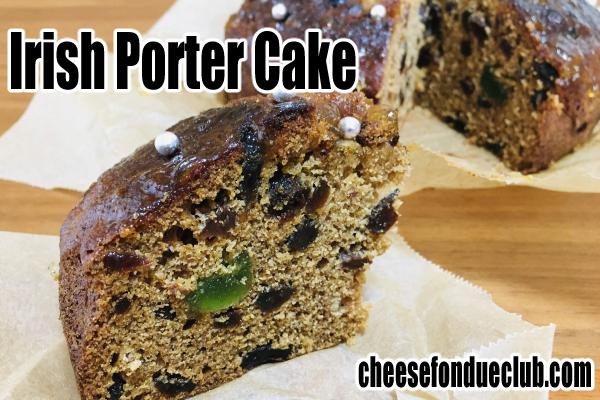 アイリッシュ・ポーターケーキのレシピ Irish Porter Cake