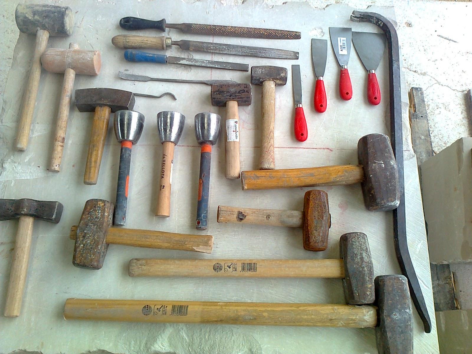 Canter a paso a paso herramientas - Herramientas para piedra ...