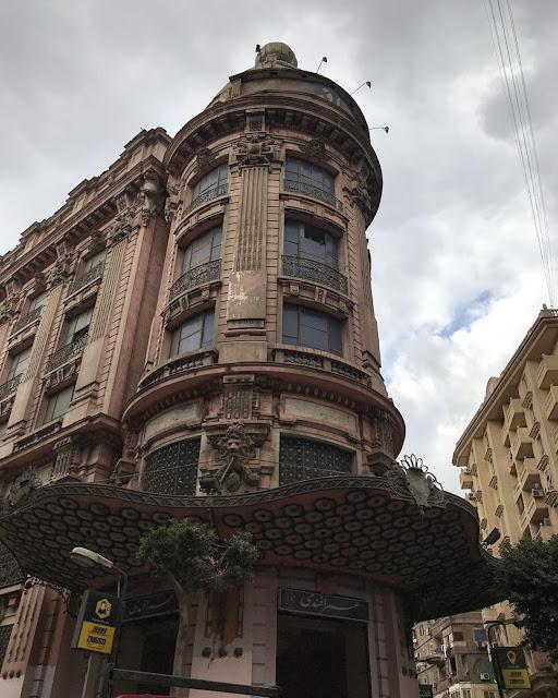 Omar Effendi building in Abdel Aziz street