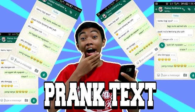 Apa itu Prank Text Chat Video Arti dan Contoh Ngeprank