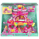 MLP Pinkie Pie Rollerskate Party Cake Building Playsets Ponyville Figure