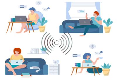Usaha Jual Wifi Rumahan