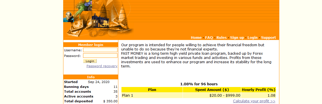 Мошеннический сайт fastmoney.investments – Отзывы, развод, платит или лохотрон? Информация