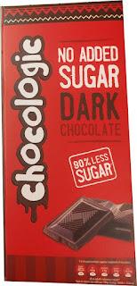 Chocologic no added sugar dark chocolate