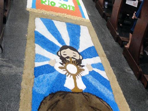Desenhos Na Solenidade De Corpus Christi 2012 Amiguinhos De Deus