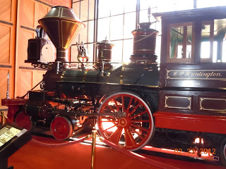 c p huntington locomotive
