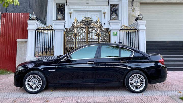 BMW 520i 2014 giá ngang VinFast Lux A 2.0 sau 5 năm sử dụng