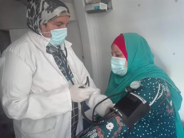 """محافظ بنى سويف: الكشف وتوفير العلاج لــــ 1400مواطناُ """" بزاوية الناوية على مدار يومين""""ضمن القوافل المجانية لوزارة الصحة"""