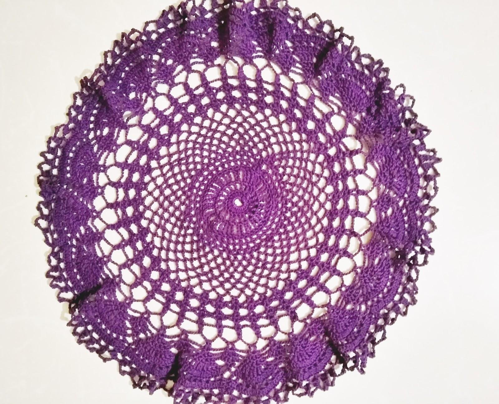 Rajis Craft Hobby Easy Crochet Doily Free Pattern
