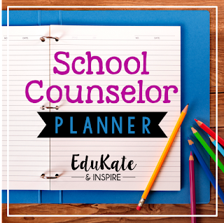 School Counselor Planner with Free Yearly Updates