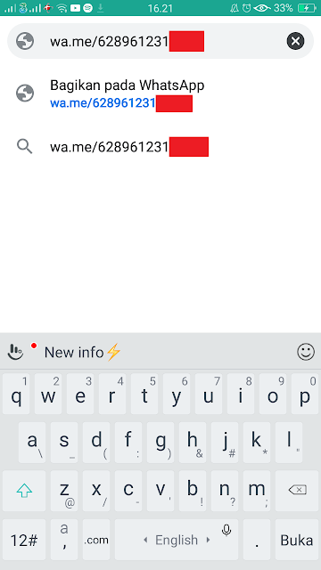 Cara Kirim Pesan WhatsApp Tanpa Simpan Nomor HP Penerima