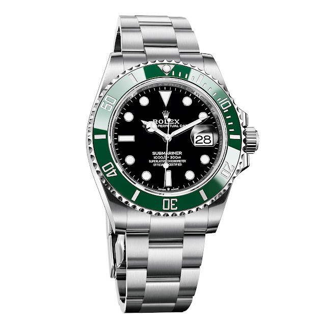 Rolex Submariner 126610LV, new 2020 model
