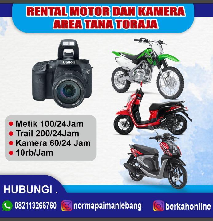 Rental Motor dan Kamera di Toraja
