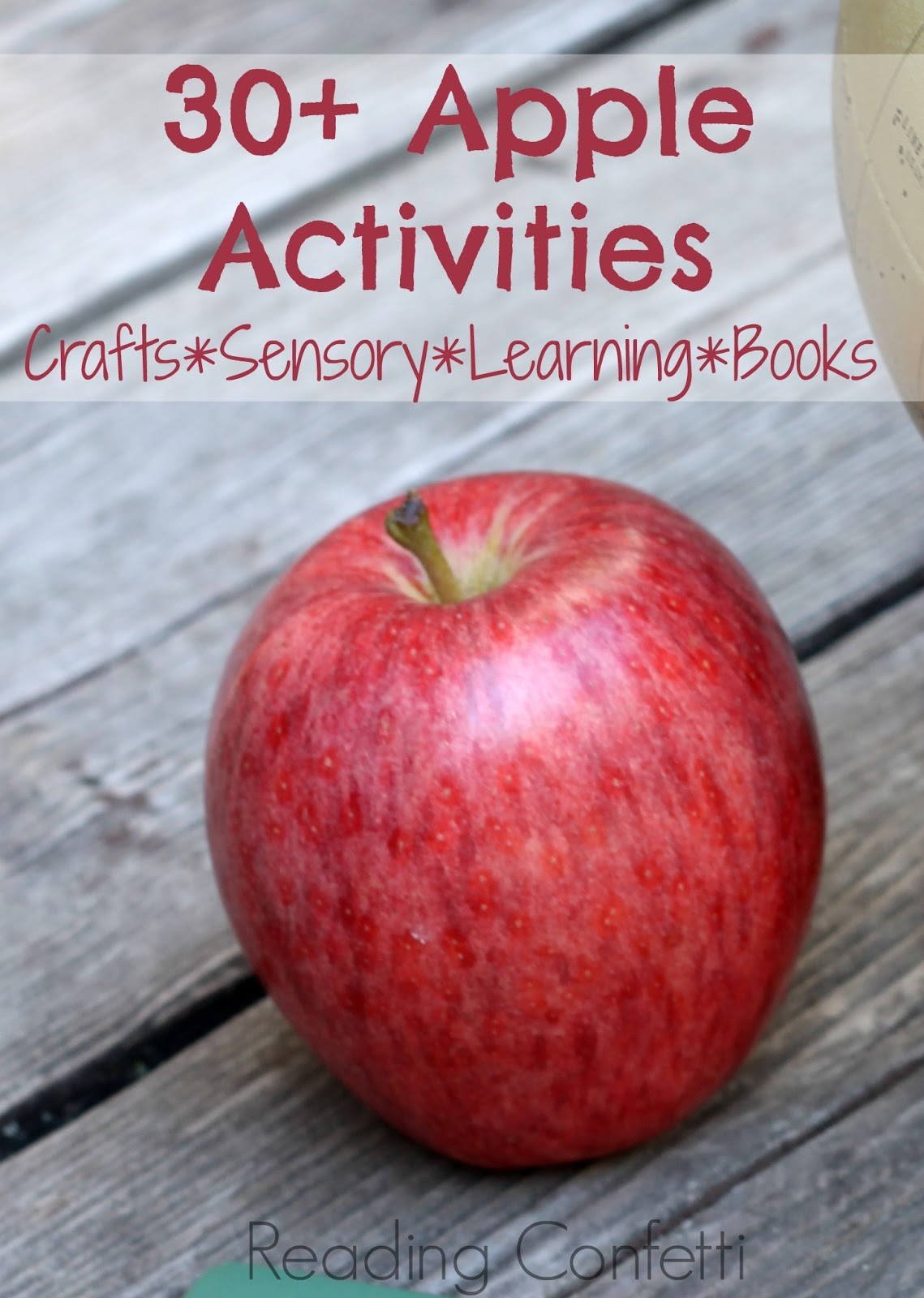 30 Apple Activities And Books Kid S Co Op Reading Confetti