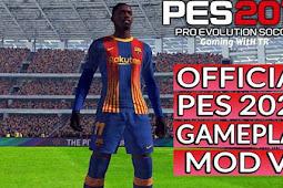 NEW Version Gameplay PES 2021 V5 - PES 2017