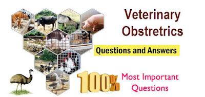 Veterinary Obstetrics MCQS