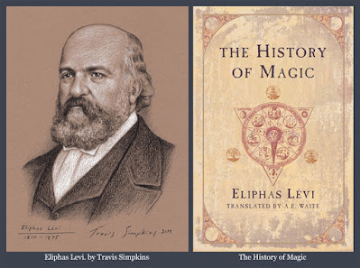 Eliphas Levi. Occult Author. The History of Magic. Esoteric Freemasonry. by Travis Simpkins