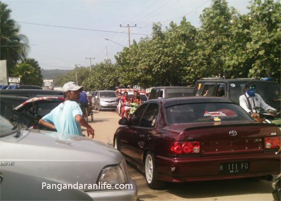 gambar kemacetan di pamugaran
